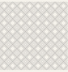 geometric seamless pattern with diagonal squares vector image