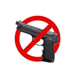 No guns sign 01 vector