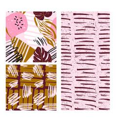 pink summer background neon pop teen print vector image