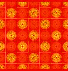 Sun sentagle seamless pattern vector