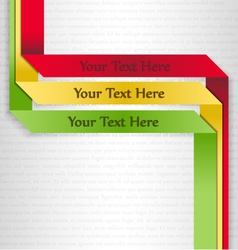 Text boxes vector