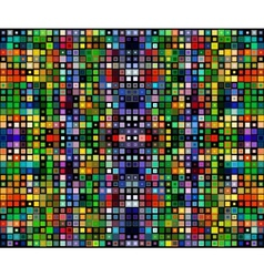square colorful background template vector image
