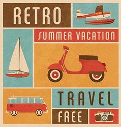 Summer Travel vector image