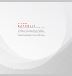 white and grey elegant business background wave vector image