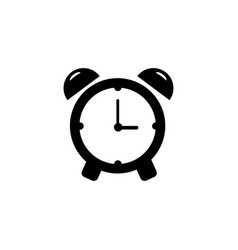 alarm clock icon single high quality outline vector image
