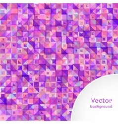 Background of Triangle vector