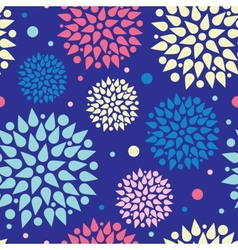 Colorful bursts seamless pattern background vector image