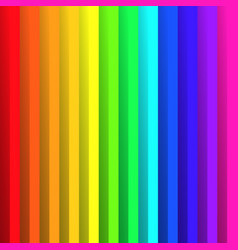 folded paper in colors of rainbow spectrum with vector image vector image