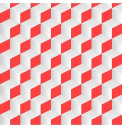 Isometric cube abstract background vector image