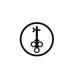 key image logo design vector image