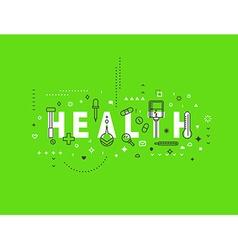 Medicine concept design Health vector image vector image