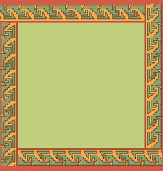 Mexican traditional ornament vector