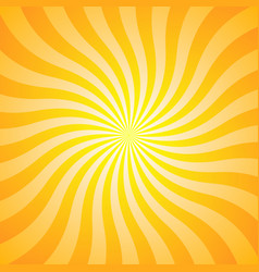 Orange yellow ray background vintage abstract vector