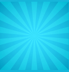 retro blue rays light colorful sunburst and vector image