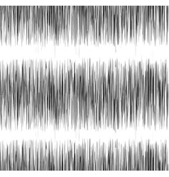 Seamless black and white texture with vibration vector
