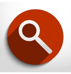search icon background vector image