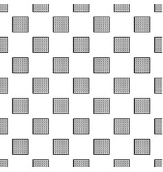 solar battery cell pattern seamless vector image