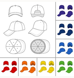 Street fashion clothing 04 vector