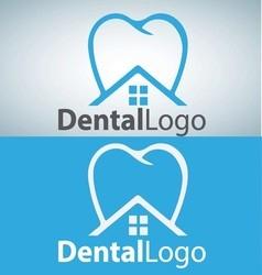 dental logo 8 vector image