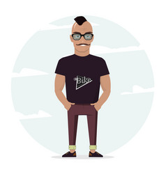 man character for your scenes for design work and vector image