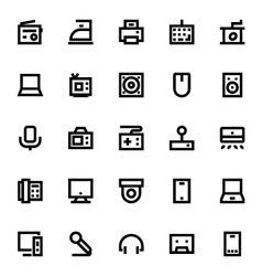 Electronics and Devices Icons 4 vector image vector image