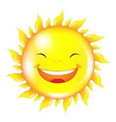Cartoon Sun vector image