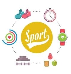 Sport Banner vector image