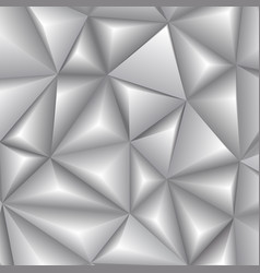 abstract 3d geometric polygonal triangle pattern vector image