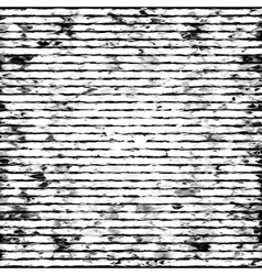 Abstract black-and-white striped grunge background vector