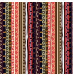 Abstract seamless texture of African vector