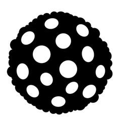 Bacterium spore - icon vector