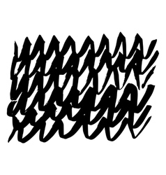 Hand-drawn ink collection vector image