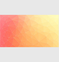 horizontal fresh color triangle backround vector image