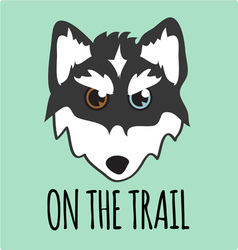 On The Trail vector