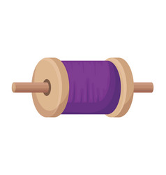Roll of thread for kite vector