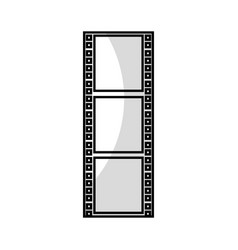 tape record film icon vector image