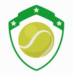 Tennis sport icon design vector