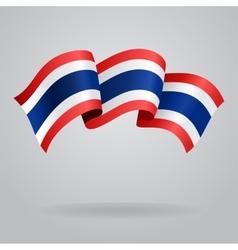 Thai waving Flag vector image vector image