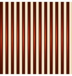 Dark and White Chocolate Striped Seamless vector image vector image