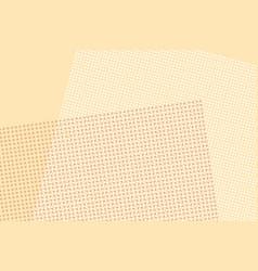 light brown digital pop art retro background vector image vector image