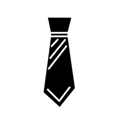 tie man icon sign o vector image vector image