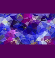 Abstract irregular polygon background royal blue vector