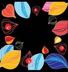 Autumn color background vector