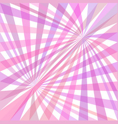Double curved ray burst background - design vector