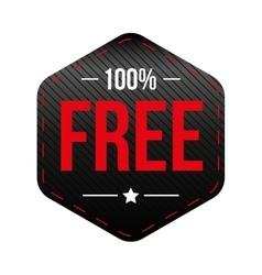Hundred percent free vector