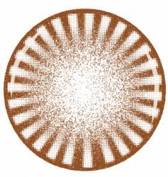 rotary grunge vector image