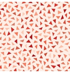 Seamless Red Shades Jumble Triangles vector