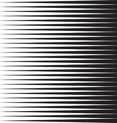 Comic book speed horizontal lines background vector