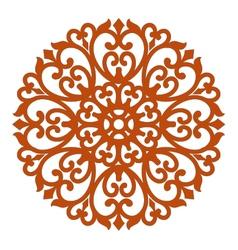 filigree ornament vector image vector image