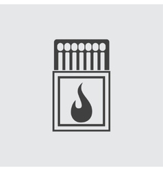 Matchbox icon vector image